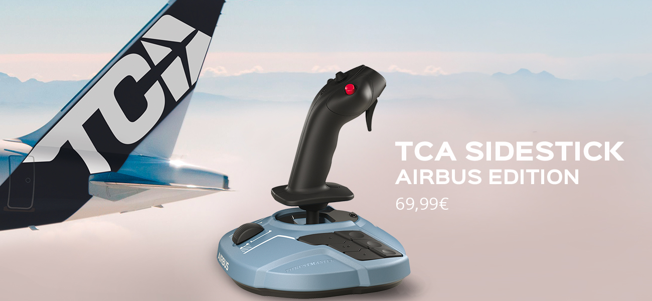 TCA Sidestick Airbus edition dede